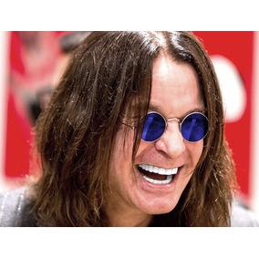e08228fab15f8 Óculos Ovais Ozzy Osbourne Unissex Rock Metal Redondos Retro
