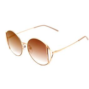80917b8dd8c85 culos De Sol Ana Hickmann Ah 3091 Dourado - Óculos no Mercado Livre ...