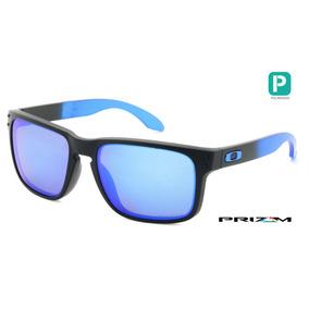 6ca04b8f625e9 Óculos Oakley Holbrook Prizm Polarizado Oo9102 D255 -sapphi