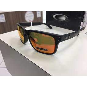 b2cfa1c8f8d27 Oculos Solar Oakley Holbrook Prizm Ruby Oo9102 E255 Original