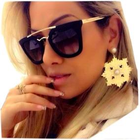 0f9762caf9fa8 Oculos Feminino Luxo - Óculos De Sol no Mercado Livre Brasil