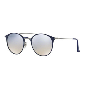 3f600127eb6d2 Oculos Sol Ray Ban Rb3546 90109u Azul Cinza Espelhado Degrad