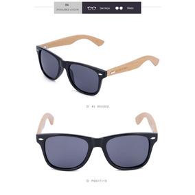 ae75dee9c Óculos Unissex Uv 400 De Excelente Qualidade. Bahia · Óculos De Sol Madeira  Adulto Preto - Bemucna - Stocklar
