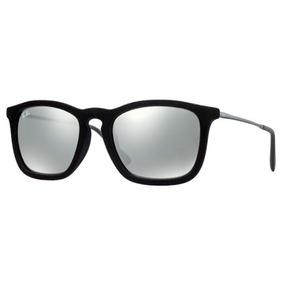09f54ce0ced7d Óculos De Sol Ray-ban Chris Velvet Rb4187 6075 6g Original