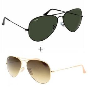 322e6557af22a Rayban 3026 - Óculos De Sol Ray-Ban Aviator no Mercado Livre Brasil
