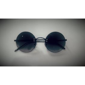 48710370d Óculos Sol Redondo Estilo Beatles John Lennon Ozzy Retro
