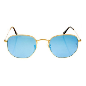 2d8dd8a7cc Ray Ban Hexagonal Tamanho 54 De Sol - Óculos no Mercado Livre Brasil