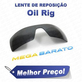 d04487901a650 Vendo Oculos Oakley Oil Rig Branco Lente Azul T. Pain - Óculos no ...