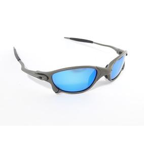 4b8a875d94e98 Óculos Oakley Double Xx 24k Squared Lentes Azul Ice Juliet