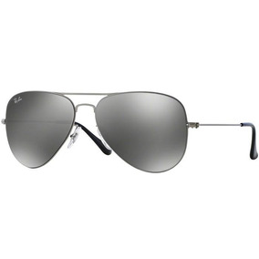 d0c7fbedd Óculos Ray Ban Rb3513 58 Aviator Flat Metal Gunmet - Óculos no ...