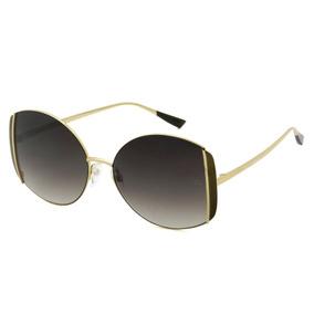 cc1861ec50880 Óculos De Sol Ana Hickmann Redondo Creme Frete Grátis - Óculos no ...