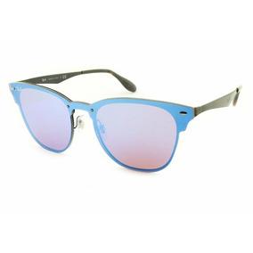 06ee87fd50223 Óculos De Sol Ray-ban N Blaze Clubmaster Rb3576 N 153 7v