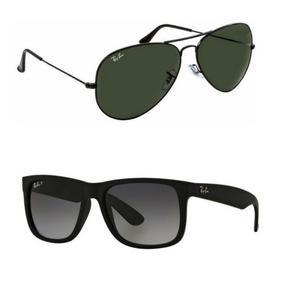 fa25a2574a9fa Óculos Aviador Rosa Rb1137 no Mercado Livre Brasil