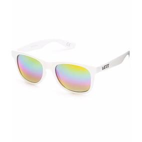 475f115fc69d6 Óculos De Sol Vans Importado Ny -branco   Arco-íris Espelho