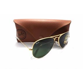 67e3e3a54 Ray Ban Aviador Verde Escuro De Sol - Óculos no Mercado Livre Brasil