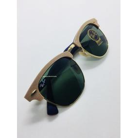 ea532a98fa245 Ray Ban Clubmaster Marrom E Amarelo - Óculos no Mercado Livre Brasil