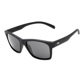08ecee5dbe5f1 Oculos Sol Hb Unafraid 9016900100 Preto Fosco Lente Cinza
