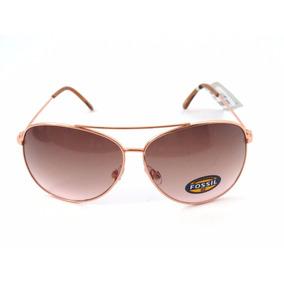 135767096 Oculos De Sol Feminino Fossil Replica - Óculos no Mercado Livre Brasil