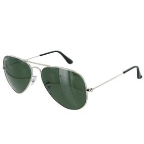 b4ac6c694 Óculos De Sol Ray Ban Rb3025 Aviador Grande Preto Lente Fumê ...