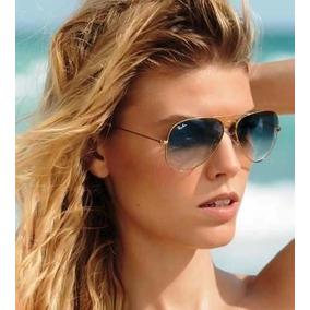 476417ccabc0f Ray Ban 3025 Azul Degrade - Óculos De Sol Ray-Ban Aviator no Mercado ...