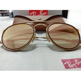 cb47857f5 Ray Ban Round Espelhado Gradiente - Óculos no Mercado Livre Brasil