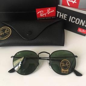 2f06e5c7c457d Oculos De Sol Ray Ban Rb3447 Round Classic Redondo Promocao. 5 cores. R  214  68