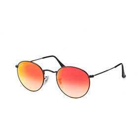 932f9c02009ba Ray Ban Round Espelhado Vermelho - Óculos no Mercado Livre Brasil