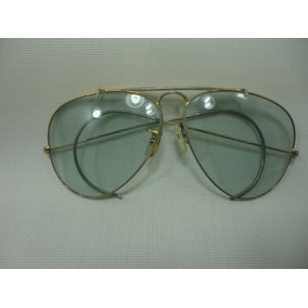 3ad3b509a1309 Oculos Antigos De Ouro - Óculos De Sol no Mercado Livre Brasil