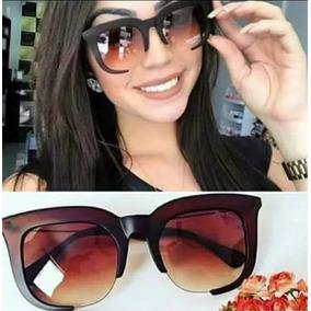 e2f6e67dac545 Oculo Sol Feminino Quadrado Degrade De - Óculos no Mercado Livre Brasil