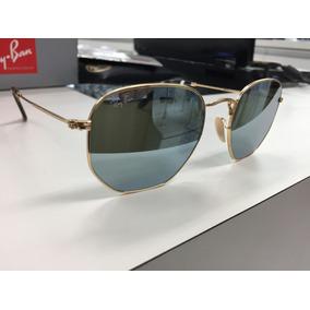 39953b8e636e5 Oculos Cinza Claro Hexagonal - Óculos no Mercado Livre Brasil