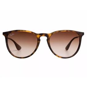 db9cc48f4a62f Óculos De Sol Ray-ban Rb4171 Erika Original Marrom Tartaruga