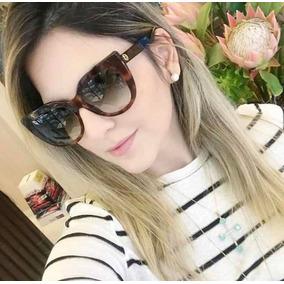 bd94fe7e62d45 Óculos De Sol Gucci Gg0164 Havana Tartaruga Acetato Feminin
