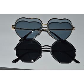 302b762aa Oculos De Sol Feminino Octogono - Óculos no Mercado Livre Brasil