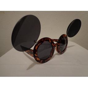 e5181b32f543f Óculos Lady Gaga Retrô Vintage Rock Tartarugado Com Metal - Óculos ...