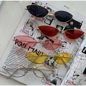 77b0849b40f2b Oculos Vintage Retro Olho De Gato Triangulo Moda + Brinde