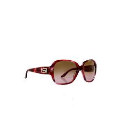 38b0f320be300 Óculos De Sol Versace 100% Proteção Uv Rosa E Preto Degrade
