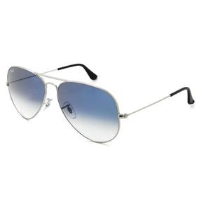 a5af8f7be11f5 Óculos De Sol Ray Ban 3025 003 3f 58 Aviator Cinza Azul - Óculos De ...