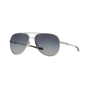 0a48d1a725f70 Oculos Solar Oakley Elmont L 4119 0260 Chrome W  Grey Grad