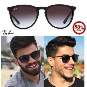 d0aec4817f414 Óculos Rayban Erika Rb4171 Fosco Masculino Feminino Vintage · R  269 49