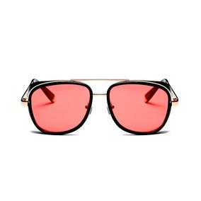 76056fac4 Óculos De Sol Tony Stark Lentes Vermelhadas Luxo Homem Ferro. R$ 60