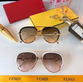 63b0dfbdf8c31 Óculos De Sol Modelo Gatinho Fendi - Óculos no Mercado Livre Brasil
