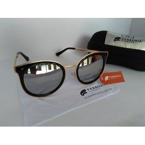 1200b21f91049 Oculos De Sol Ferrovia Feminino no Mercado Livre Brasil