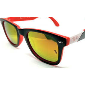 d6c2e735bf7d7 Óculos De Sol Ray Ban Rb2157 Ultra Wayfarer Espelhado Color