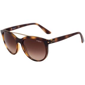 4268536b6 Óculos Feminino Vogue Vo5134 Marrom Original Pronta Entrega