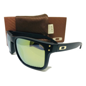 15dcb13645f5b Oakley Holbrook Branco Lente Dourada Frete Gratis De Sol - Óculos no ...
