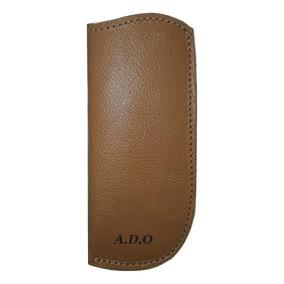 0db4060a5b76b Capa Para Óculos De Leitura Em Couro Legítimo Personalizada