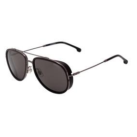 4c426dda151cd Carrera 166 S - Óculos De Sol Kj1 Ir Cinza E Preto Brilho  P