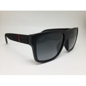 5aa7c515c61 Óculos De Sol Preto E Quadrado ( Frete Grátis ) Gucci - Óculos no ...