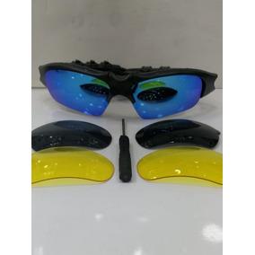 6909870580926 Óculos Oakley Thump Fone Bluetooth + 2 Lentes De Brind