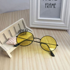 8dd54b1956204 Oculos John Lennon Amarelo - Óculos no Mercado Livre Brasil